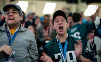 NFC Wild Card Philadelphia Eagles Fans