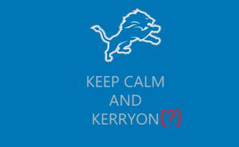 Kerryon Johnson Question Mark