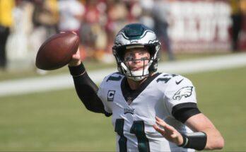 Carson Wentz Philadelphia Eagle Luckiest Quarterbacks Start or Sit cut list