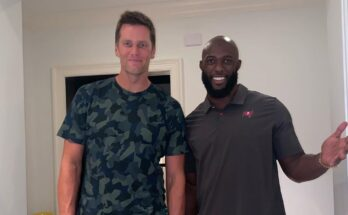 Leonard Fournette and Tom Brady Tampa Bay Buccaneers Absurdity Check