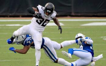 Running Backs James Robinson Jacksonville Jaguars