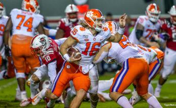 Trevor Lawrence Clemson Tigers Rookie Quarterbacks NFL Draft Jacksonville Jaguars