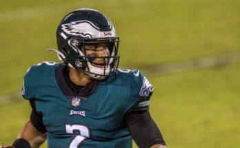2021 Jalen Hurts Philadelphia Eagles