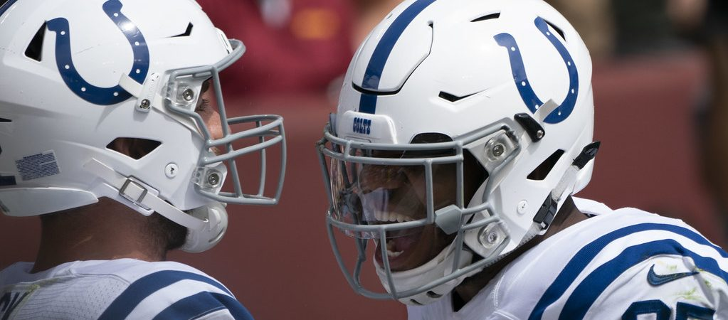 Andrew Luck, Eric Ebron sleeper tight ends