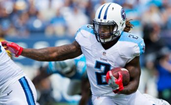 AFC Wild Card Game Derrick Henry Tennessee Titans Fantasy Football