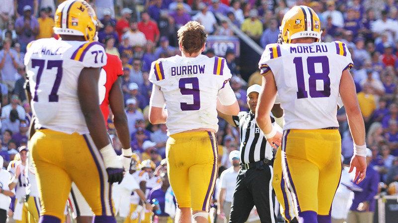 Joe Burrow LSU NFL Draft Fantasy Football Rookies