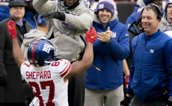 Sterling Shepard New York Giants sorry for your loss