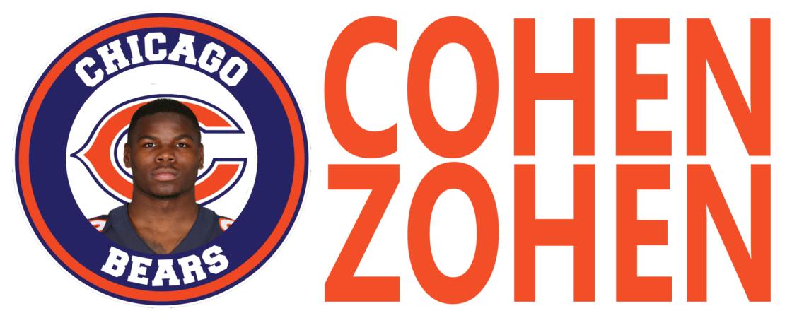Tarik Cohen Zohen Chicago Bears