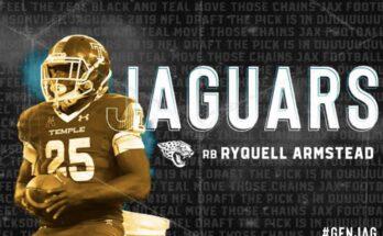 Ryquell Armstead Jacksonville Jaguars