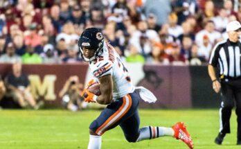 David Montgomery Chicago Bears Start or Sit Running back Absurdity Check