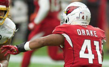 Kenyan Drake Arizona Cardinals Start or Sit
