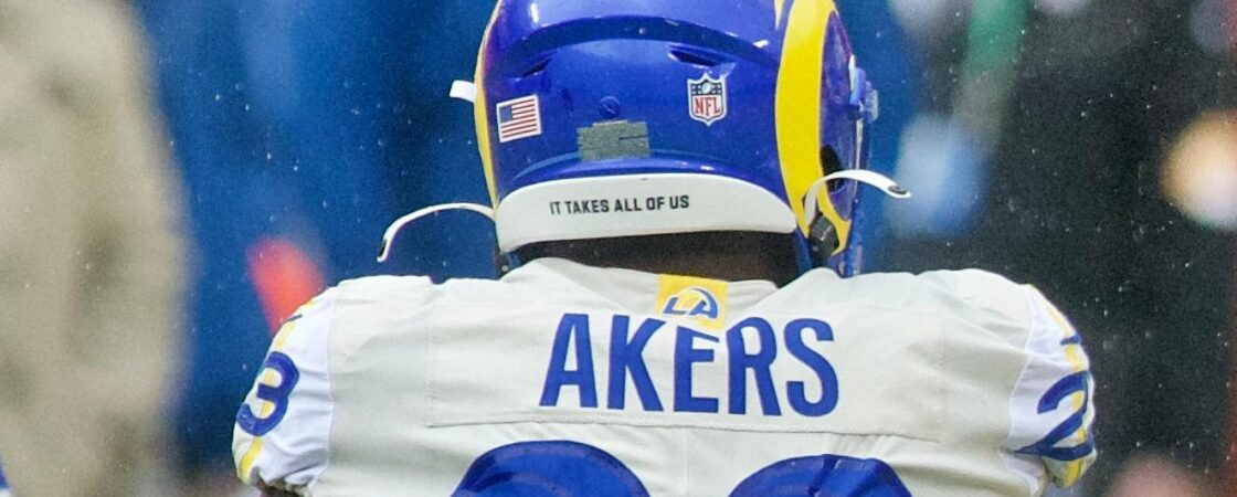 Cam Akers Los Angeles Rams Absurdity Check running back sleepers start or sit