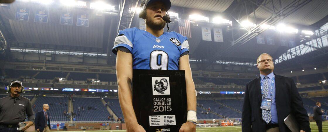 Matthew Stafford Detroit Lions Start or Sit Thanksgiving