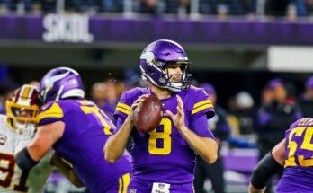 Kirk Cousins Minnesota Vikings Start or Sit cut list