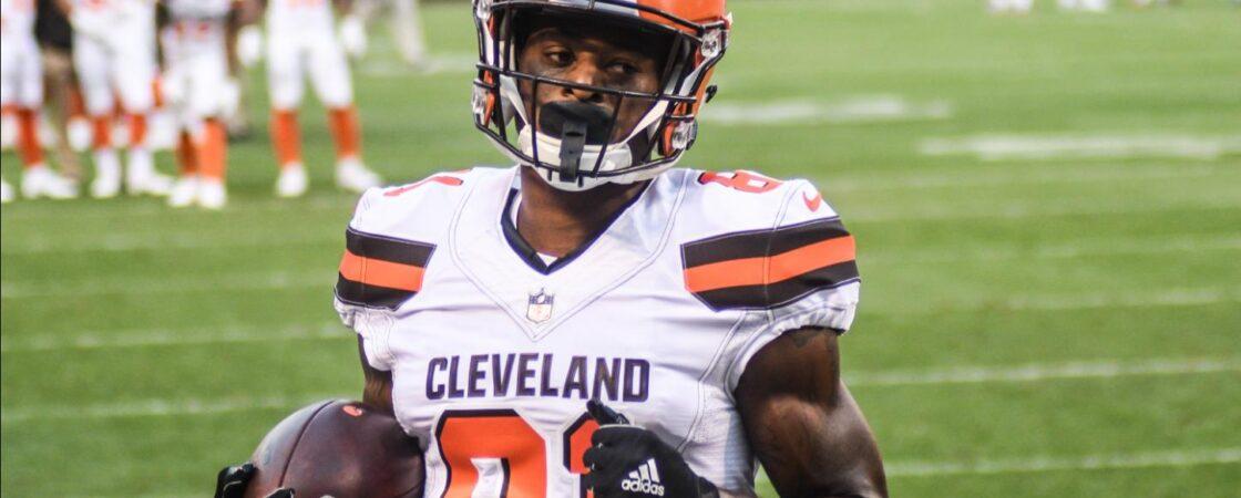 Rashard Higgins Cleveland Browns Wide Receiver Sleeper