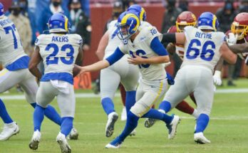 Jared Goff Cam Akers Los Angeles Rams