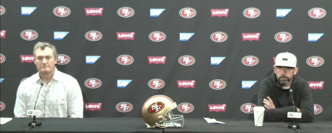 John Lynch Kyle Shanahan San Francisco 49ers