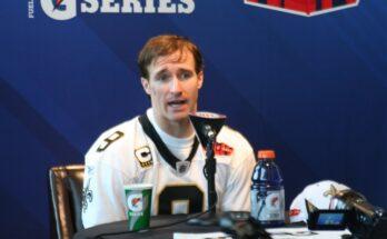 Drew Brees New Orleans Saints