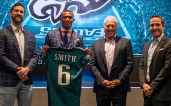 DeVonta Smith Philadelphia Eagles